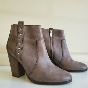 Brown Coach Ankle Boots